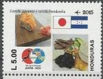 Stamps Honduras -  COMIDA  JAPONESA  Y  HONDUREÑA