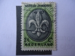 Stamps Netherlands -  Wereld Jamboree.