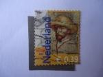 Stamps Netherlands -  Van Gogh