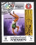 Sellos de Asia - Yemen -  Juegos Olímpicos