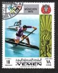 Stamps Yemen -  Juegos Olímpicos