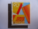 Stamps Switzerland -  Helvetia.