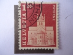 Stamps Switzerland -  Payerne.