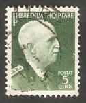 Stamps Albania -  260 - Victor Manuel III