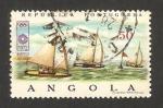 Sellos de Africa - Angola -  578 - Olimpiadas Munich 72, veleros
