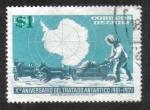 Sellos de America - Chile -  X° Aniversario del tratado Antartico 1961-1971