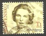 Stamps : Europe : Slovakia :  502 - Masa Hal