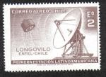 Stamps Chile -  Antena Parabolica y Satélite