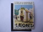 Stamps Spain -  Ed:2478 - Ermita de Colón. V Cent. de la Fundación de las Palmas de Gran Canaria.