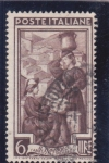 Stamps Italy -  Il Tombolo