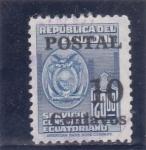 Stamps Ecuador -  escudo