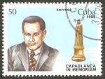 Sellos de America - Cuba -  En memoria de Capablanca