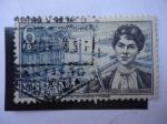 Stamps Spain -  Ed: 1867 - Rosalía de Castro.