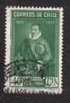 Stamps Chile -  Pedro de Valdivia (1497-1553)