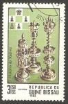 Stamps : Africa : Guinea_Bissau :  Ajedrez