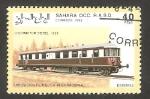 Stamps Morocco -  Locomotor diesel
