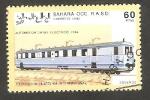 Sellos de Africa - Marruecos -  Automotor diesel eléctrico 1934