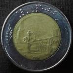 monedas de Europa - Italia -  1984 (Reverso)