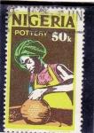 Sellos de Africa - Nigeria -  alfarero