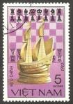Stamps Vietnam -  Ajedrez