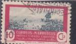 Stamps Morocco -  cazadores