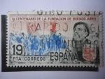Stamps Spain -  Ed: 2581 - IV Centenario de la Fundación de Buenos Aires