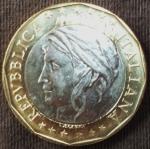 monedas del Mundo : Europa : Italia :  1998 (Anverso)