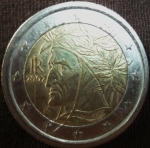 monedas del Mundo : Europa : Italia :  2002 (Anverso)