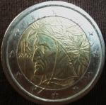 monedas de Europa - Italia -  2002 (Anverso)