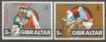 Stamps Gibraltar -  NAVIDAD