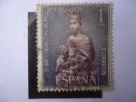 Stamps Spain -  Ed: 1523 - 75º Aniv. Coronación Canonica Nuestra Señorea de la Merced.