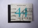 Stamps Netherlands -  Cifras -