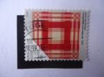 Sellos de Europa - Holanda -  Daan Van Golden. Compositie met rode ruit, 1964.