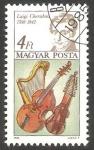 Sellos de Europa - Hungría -  Luigi Cherubini, compositor
