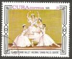Stamps Cuba -  30 Anivº Ballet Nacional Grand Pas De Quatre
