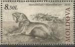 Stamps Moldova -  HOMOTHERIUM