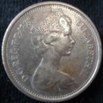 monedas del Mundo : Europa : Reino_Unido :  1971 (Anverso)