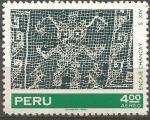 Stamps Peru -  ENCAJE  CHANCAY