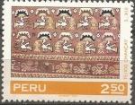 Sellos de America - Perú -  TEJIDO  CHANCAY