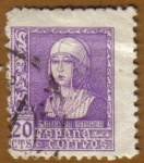 Stamps Spain -  ISABEL