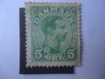 Stamps Denmark -  Cristián X - Danmark