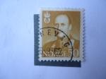 Sellos de Europa - Noruega -  Rey Olav V - S/n 364.
