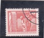 Stamps Germany -  monumento y edificios