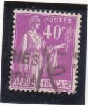 Sellos de Europa - Francia -  Paz