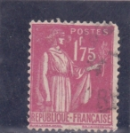 Stamps France -  Paz