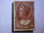 Stamps Greece -  Queen Olga de los Elenos - (Mich. 643 - Yvert 629)