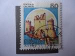 Stamps Italy -  Rocca di Galascio - S/i. 1412.