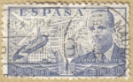 Stamps Europe - Spain -  JUAN DE LA CIERVA y Autogiro