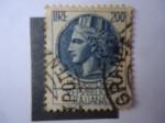 Stamps Italy -  Moneda Antigua Siracusana (S/i. 998U