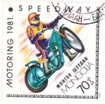 Stamps Mongolia -  Motoring-81